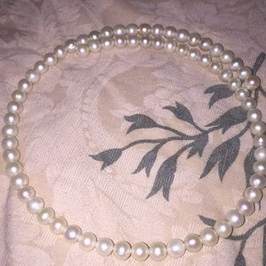 Pearl Necklace or Headband